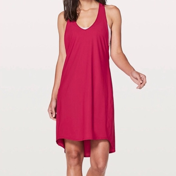 lululemon athletica Dresses & Skirts - Lululemon NWT Rejuvenate Dress RUBR 8